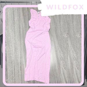 NWT WILDFOX Orchid Rayna Maxi Dress